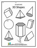 Shapes Geometric Coloring Drawing 3d Pages Shape Sheets Patterns Printable Worksheet Worksheets 4d Solid Kindergarten Forms Printables 3e Pattern Yahoo sketch template