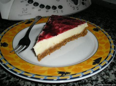 Tarta De Leche Condensada Con Frutas Del Bosque (thermomix