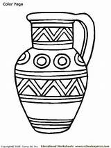 Greek Coloring Colorat Decembrie Pottery Romania Crafts Colorare Template Activities Printables Antica Printable Grecia Greci Africa Ancient Greca Greece Hora sketch template