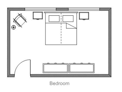 Bedroom Floor Planner, Master Bedroom Suite Floor Plan