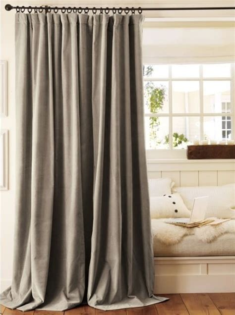 velvet drape traditional curtains by pottery barn