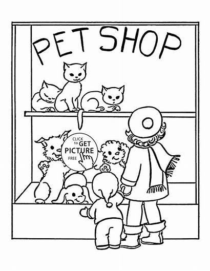 Coloring Pet Animal Printables Popular