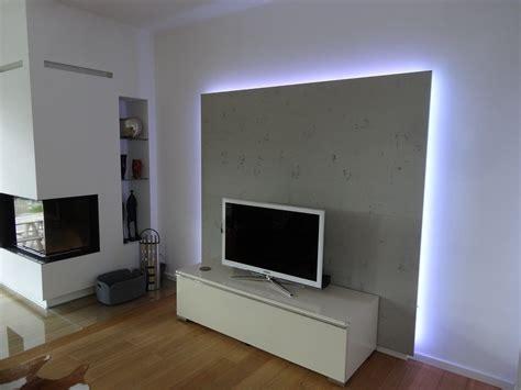 Tv Board Mit Rückwand by Tvschrank Wohnzimmer R 252 Ckwand Mit Led Lauer Die