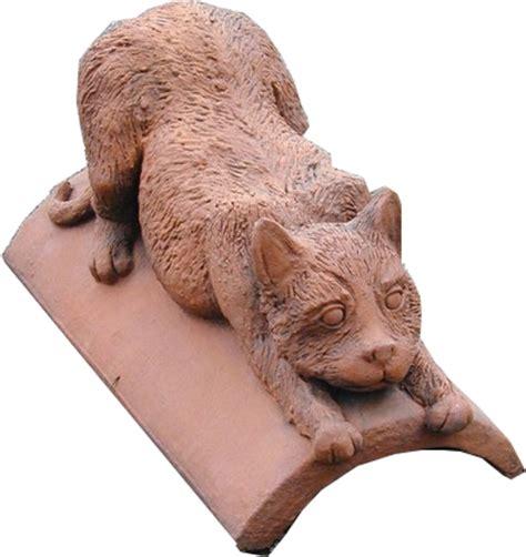 cat ridge tiles  decorative ridge tiles  roofs