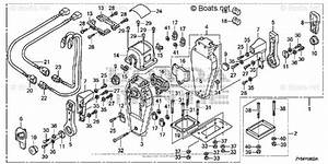 Honda Outboard Parts By Year 2004 Oem Parts Diagram For