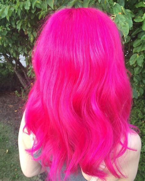 Hot Pink Hair 6 Free Hair Color Pictures