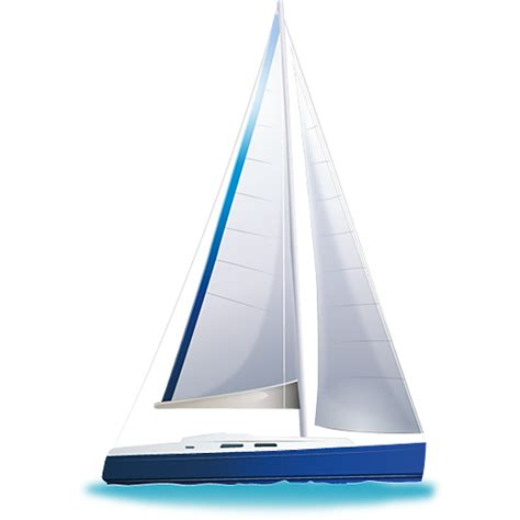 Sailboat Icon Transparent by Sail Boat Icon Download Free Icons