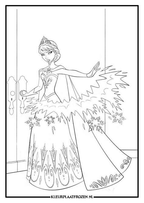 Kleurplaat Alle Disney Frozen by Frozen Elsa Kleurplaat Kleurplaat Elsa Frozen