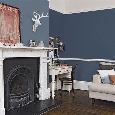traditional dark blue living room style dark blue