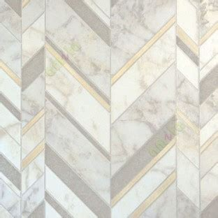 natural stone finished gold beige grey herringbone design