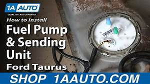 How To Install Fuel Pump And Sending Unit 2001
