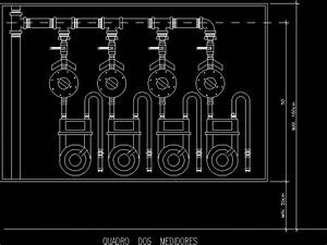 Gas Meter - Views DWG Block for AutoCAD • Designs CAD