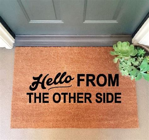 Humorous Doormats by Best 25 Doormats Ideas On Doormats
