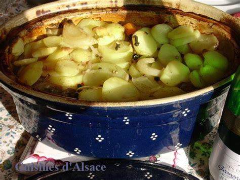 cuisine alsacienne baeckeoffe baeckeoffe potée boulangère cuisines d 39 alsace