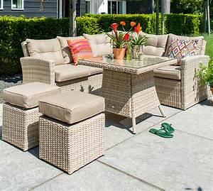 Lounge Set Mit Esstisch : hartman 19 tlg esstisch lounge set maryland polyrattan artjardin ~ Bigdaddyawards.com Haus und Dekorationen