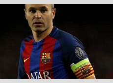 Andres Iniesta a major doubt for Barcelona derby at