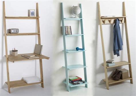 bureau gain de place domeno les étagères échelle de la redoute intérieurs