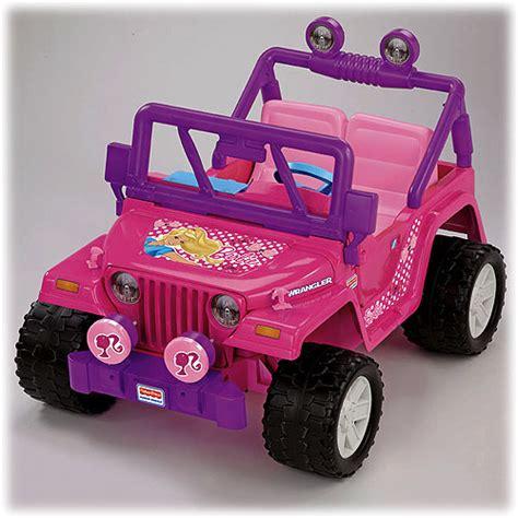 power wheels jeep barbie power wheels 174 barbie jammin jeep 174 wrangler pink shop