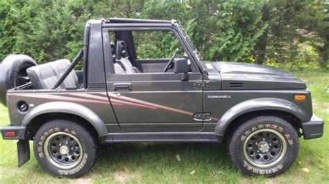 jeep suzuki samurai for sale 1989 suzuki samurai florida jeep rust free great original
