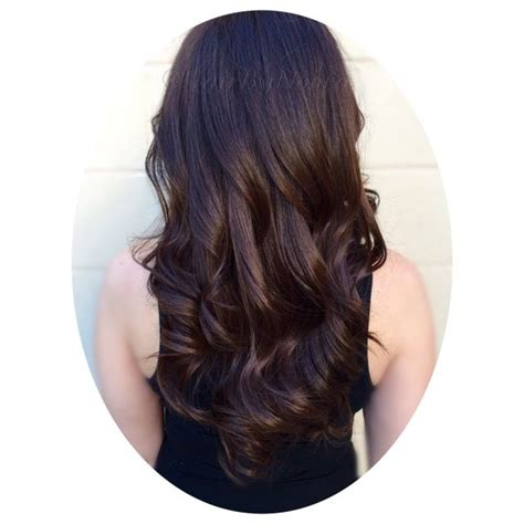 Rich Espresso Brown rich espresso brown hair color haircut and style hair