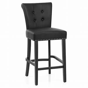 Tabouret De Bar Cuir : chaise de bar buckingham cuir cro t monde du tabouret ~ Teatrodelosmanantiales.com Idées de Décoration