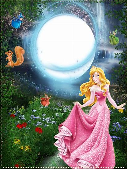 Princess Frame Frames Disney Borders Aurora Marcos