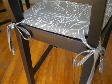 galettes pour chaises tuto couture galette de chaise