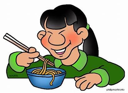 Clipart Noodles Clip Taste Sense Noodle Asian