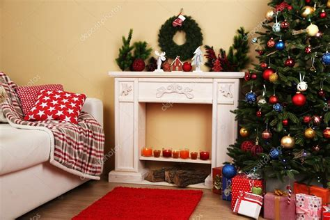Interiore Di Natale Con Divano