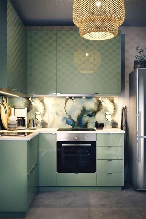 Kleine Küche by 5 Trendige Ideen Und Bilder F 252 R Kleine K 252 Chenzeilen