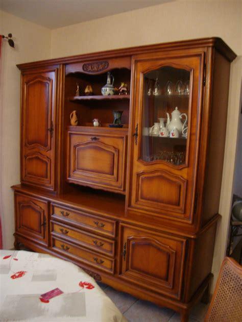 meuble cuisine repeint relooking d 39 un living en merisier kréative déco