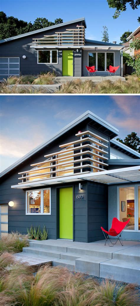 A Colorful Modern Home Designed With Usability In Mind by 7 Exles Of Colorful Doors That Brighten Up These Modern