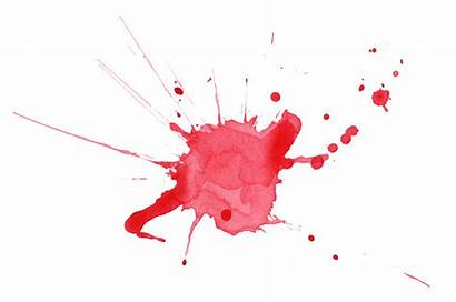Watercolor Splatter Transparent Blood Background Abstract Paint