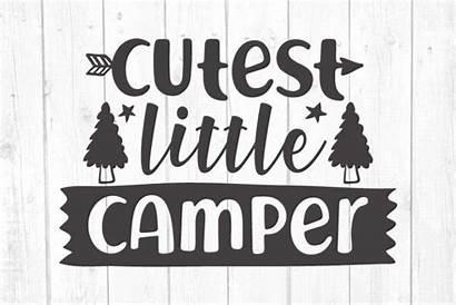 Svg Camper Camping Cutest Campers Designbundles