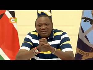 President Kenyatta streams live on Facebook - YouTube