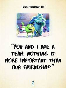 From 'Monst... Disney Monsters University Quotes