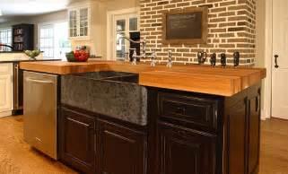 kitchen island counters oak wood kitchen island counter in bryn mawr pennsylvania