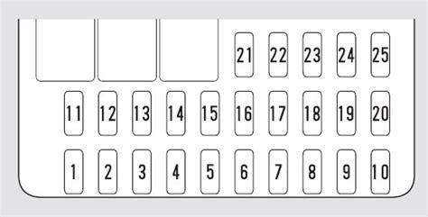 2003 Honda Crv Fuse Box Diagram by Honda Cr V 2005 2006 Fuse Box Diagram Auto Genius