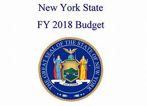 New York State Economic and Fiscal Outlook FY 2018 ...