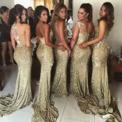 gold dresses for bridesmaids 1000 images about bridesmaid dresses groomsmen on sequin gown prom dresses