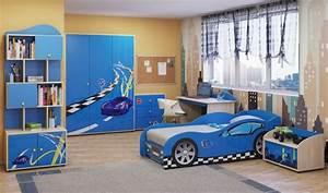 Einrichtungsideen Kinderzimmer Junge : kinderzimmer junge auto blau ~ Sanjose-hotels-ca.com Haus und Dekorationen