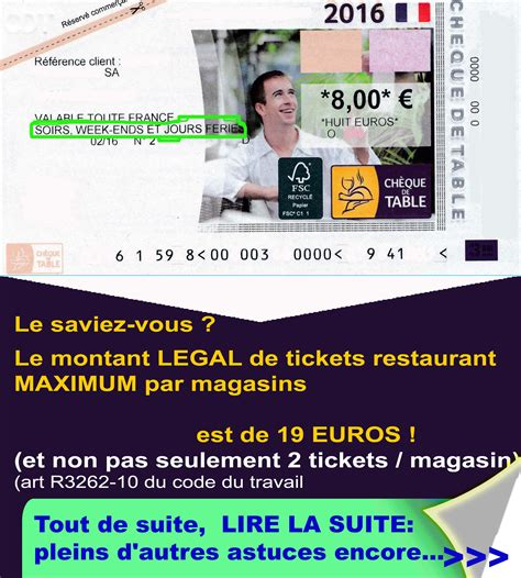 Carte Ticket Restaurant Astuce by Cheques Dejeuner Ticket Restaurant Resto Carrefour