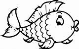 Fish Colouring Template Coloring sketch template