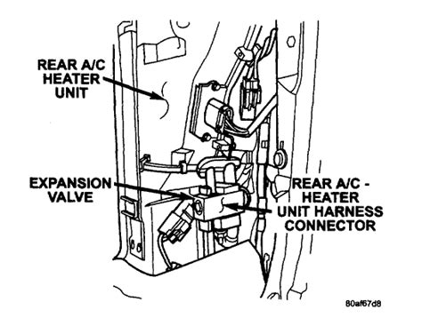 Chrysler Town And Country Air Conditioning Problems by 2007 Chrysler Town And Country Air Conditioning Diagram