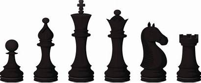 Chess Pieces Clipart Vector Piece King Illustrations