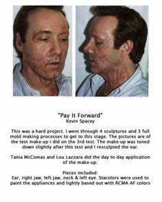 Kevin Spacey's make up for Pay It Forward movie ...