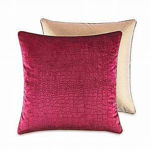 croscillr fuchsia european pillow sham bed bath beyond With bed bath and beyond euro pillow insert