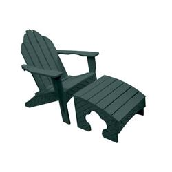 eagle one adirondack chair with footstool eag c425
