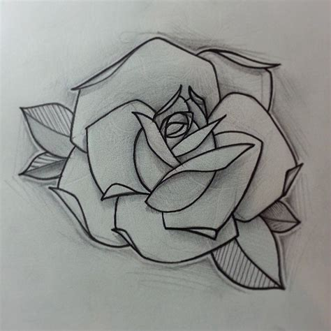 tattoo design traditional rose  tattoo designs