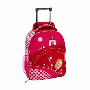 Valise Enfant Fille : valise trolley liz lilliputiens berceau magique ~ Teatrodelosmanantiales.com Idées de Décoration
